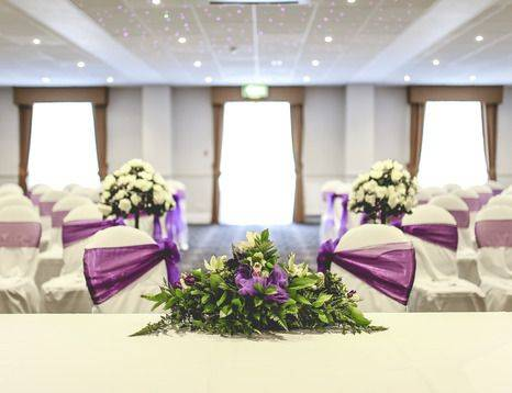 Wedding at the Holiday Inn Corby (Picture from a real bride)